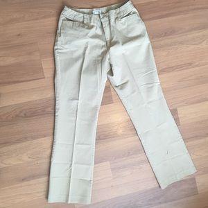 Size 12 St. John's Bay Cream Pants